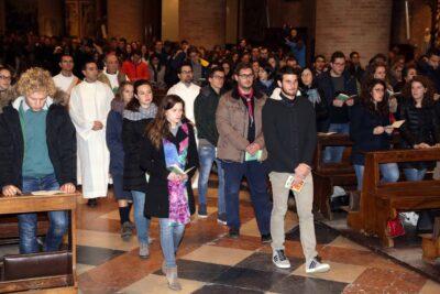 agenzia foto film san nicolò veglia diocesana giovani 7-12-15