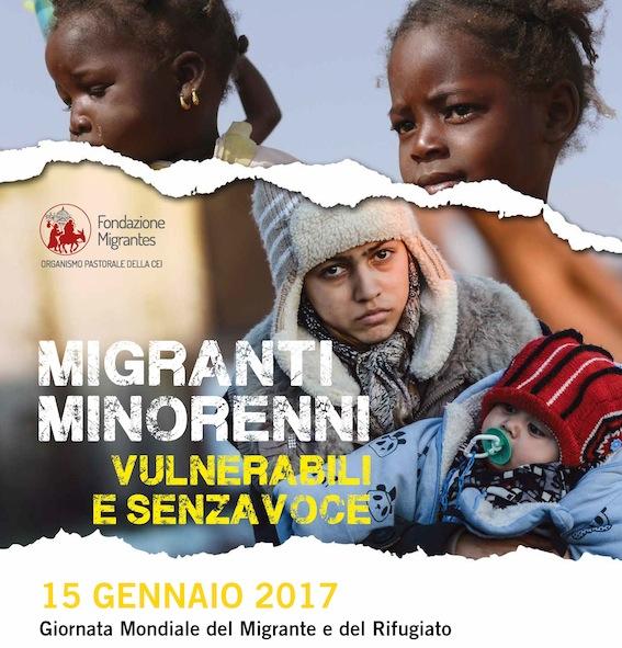 Risultati immagini per Giornata dei migranti 2017